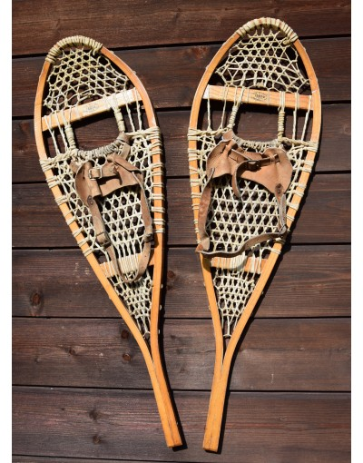 "Antique ""FABER"" Snowshoes"