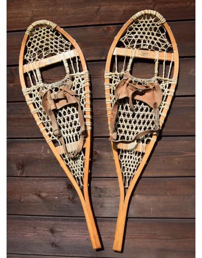 """Antique """"FABER"""" Snowshoes"""