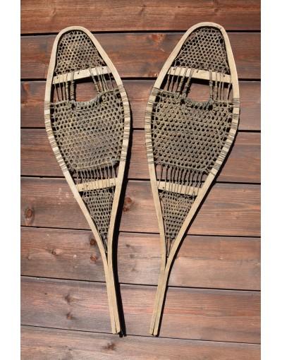 """Vintage """"CREE"""" Snowshoes / Raquettes a neige Vintage / Vintage Schneeschuhe"""
