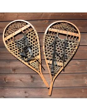 BEAR PAW/HURON Antique Snowshoes