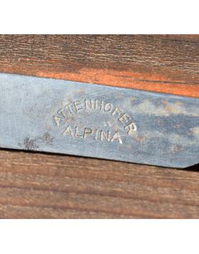 "Rare vintage Attenhofer ""ALPINA"" ice axe"