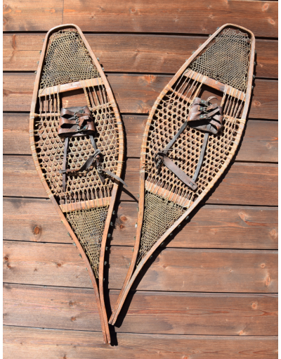 1930's Native American Snowshoes