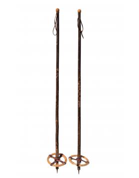 1940's Hickory Ski Poles