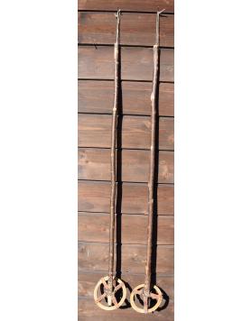 1940's Antique Ski Poles