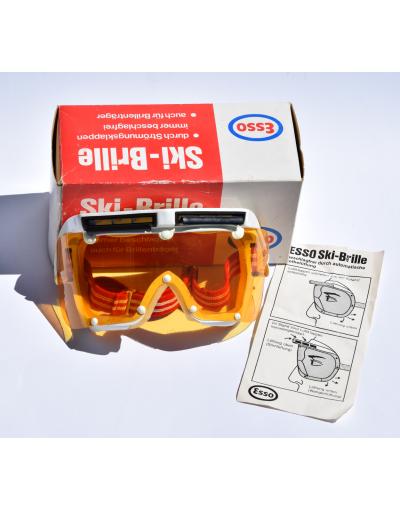"""Rare Vintage """"ESSO"""" ski goggles"""