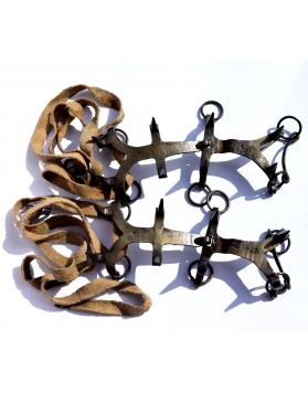 "Vintage ""Prima"" climbing crampons (Made in Switzerland)"