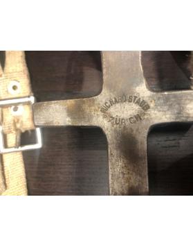 "Vintage Swiss ""STAUB"" climbing crampons"