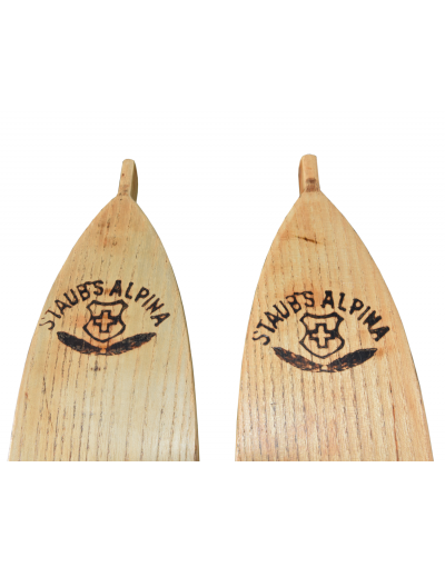 "Antique Staub's ""ALPINA"" Skis  (Fully Restored)"