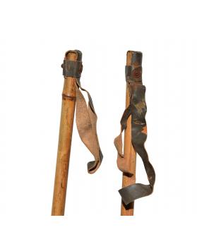 1950's Children Ski Poles