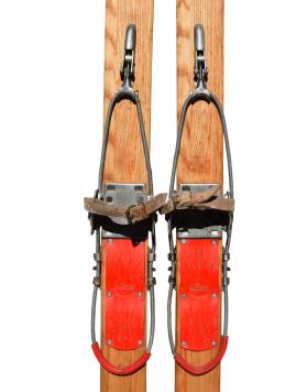 1950's Children Skis (unrestored)
