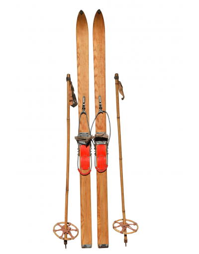 1950's Children Skis (unrestored)