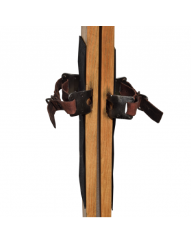 Rare Early 1900's Swiss Skis (Restored)