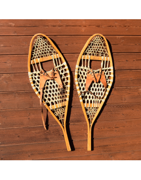 Vintage Canadian Snowshoes / Raquettes a neige Vintage / Vintage Schneeschuhe
