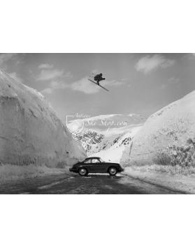 Porsche 356 Ski Jump
