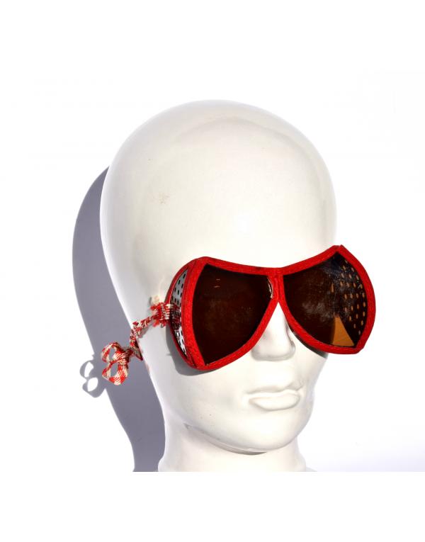 1940's vintage ski goggles