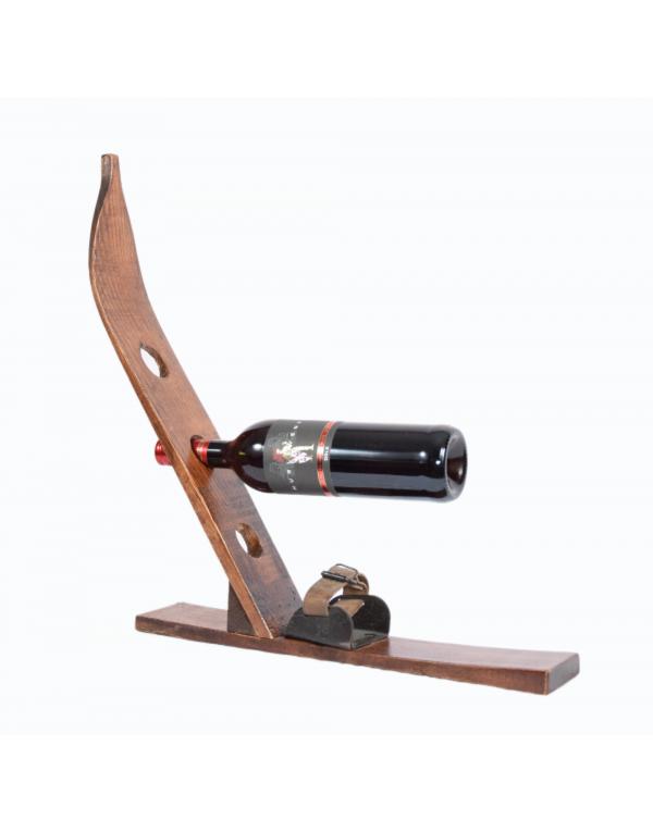 Antique Ski Wine Rack/Ski Weinregal/Porte-bouteille de vin skis