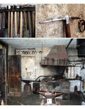 The original Schild & Sohn forge is now a historical monument & can be visited in Kandersteg
