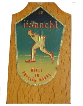 "Antique skates ""IISNOCHT"""