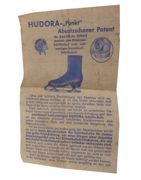 "Antique ""Hudora"" skates"