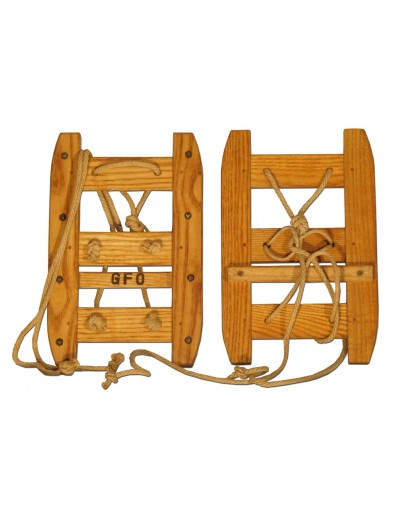 Antique Swiss Military Snowshoes