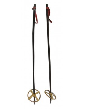 Antique Children ski poles