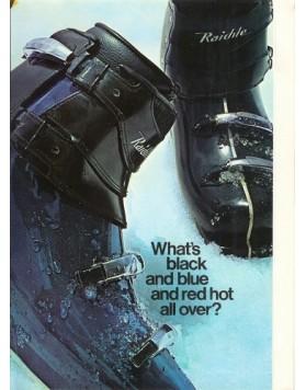 "Vintage RAICHLE ""Fiber Jet"" Ski Boots"