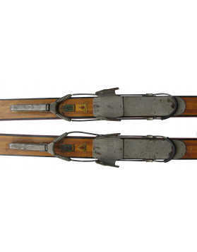 "Antique ""ERBA"" Skis (Non Restored)"