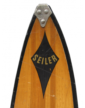 "Antique ""SEILER"" Skis (Non Restored)"