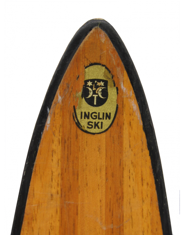 "Antique ""INGLIN"" Skis (Non Restored)"