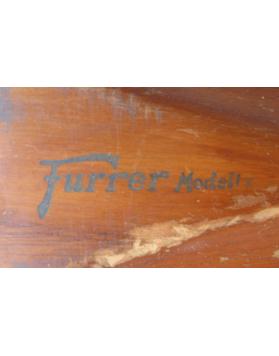 "Antique ATTENHOFER ""Furrer Modell"" Skis (Non Restored)"