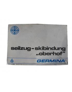 "Antique ""GERMINA"" Ski Bindings (NEW!)"
