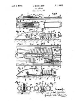 1939 Belmag binding diagram for patent application (not included)