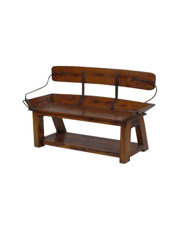 Buckboard Bench (Open Back)