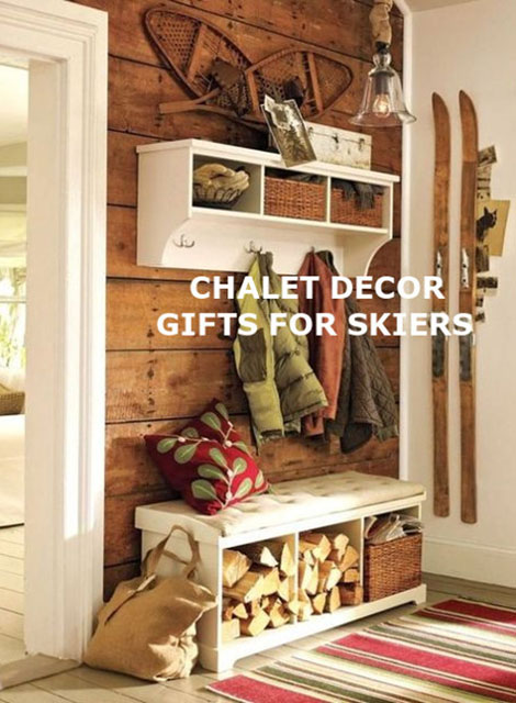 Other Chalet Decor Items & Gifts for Skiers